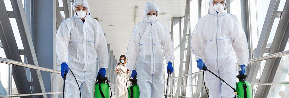 Desinfecção Coronavírus - COVID 19 no Porto